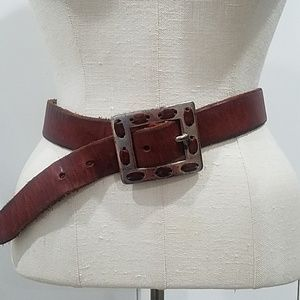 Guess Leather Belt - S